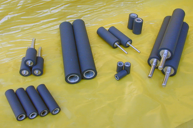 custom rubber covered rollers 2